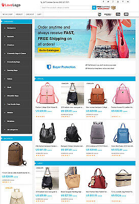 Bags Store   Aliexpress Affiliate Website   Free Hosting