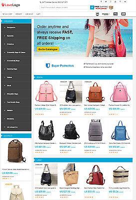 Bags Store - Aliexpress Affiliate Website Free Hosting