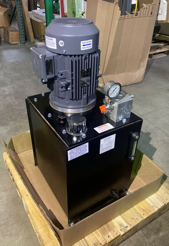 MONARCH T58C405R02S0-01 Hydraulic Power Unit 5 HP 208-230/460V AC 3Ph 2,000 psi