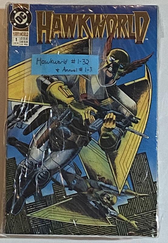 Hawkworld 1-32, Annual 1-3 - COMPLETE RUN