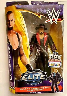 WWE Elite Toys R Us Build A Figure Undertaker. NEW, used for sale  Shipping to India