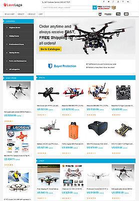 Drones Store   Aliexpress Affiliate Website   Free Hosting