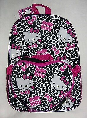 NEW SANRIO HELLO KITTY SCHOOL BACKPACK KIT ATTACHED INSULATE