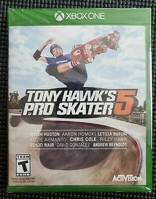 Tony Hawk's Pro Skater 5 Xbox 360 Brand New Sealed - 2 DAY SHIPPING