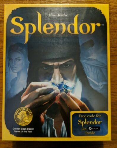 Splendor Board Game Asmodee Games by Mark Andre ASM Family F