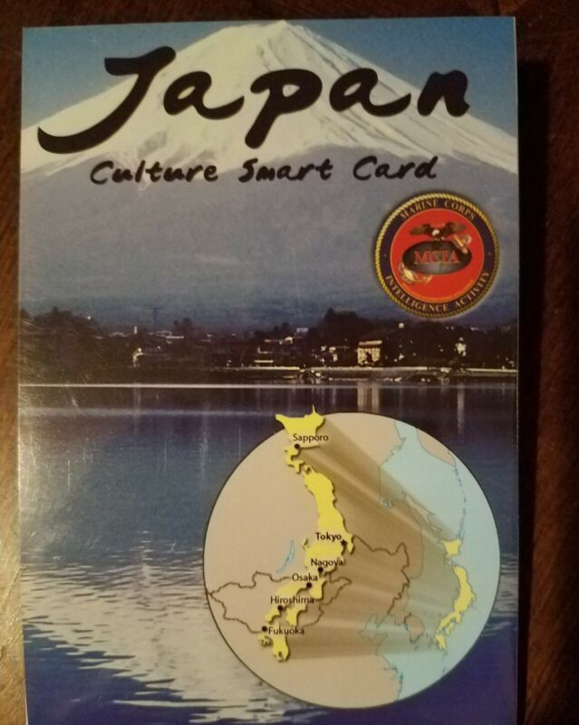 US Army USMC Japan Cultural Smart Card