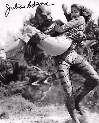 Julie Adams Signed 8x10 Photo - STAR OF CREATURE FROM THE BLACK LAGOON!