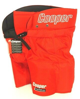874fede6029 COOPER HP750 SENIOR TECHNIFLEX ICE HOCKEY PANTS RED SIZE  SMALL (WAIST  28-30)