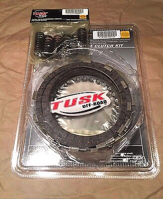 Honda TRX 450ER 2006-2014 450R 2004-2009 Tusk Clutch Kit w/ Heavy Duty (Trx450r Clutch)