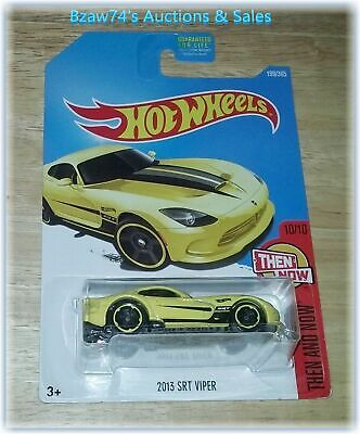 2017 Hot Wheels, 2013 Dodge SRT Viper (#199/365) Then And Now (#10/10)