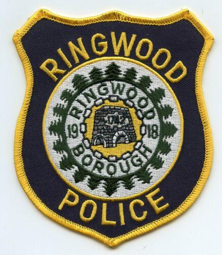 RINGWOOD BOROUGH NEW JERSEY NJ POLICE PATCH