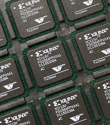 Xilinx Xcv150-4fg256c Fpga 864 Clbs 164674 Gates 250mhz 3888-cell Cmos Pbga256