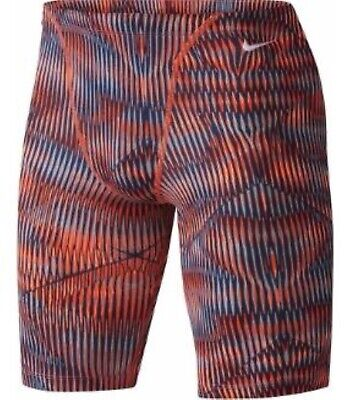NWT Nike Men's Vibe Performance Jammer Swimsuit (Size: 34, NESS7107-845, $54)