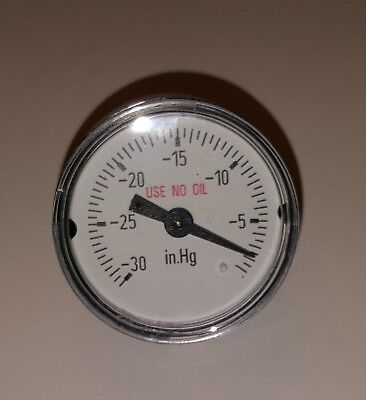 Wika Pressure Gauge 111.12 1.5 30inhg Vac 18 Npt Cbm 4209047 New Old Stock