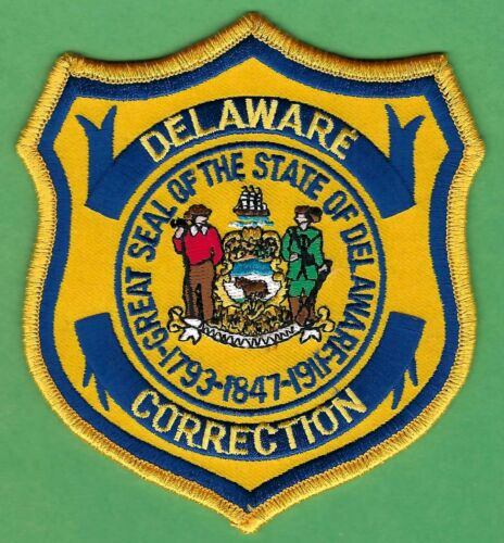 DELAWARE STATE DEPARTMENT OF CORRECTIONS SHOULDER PATCH