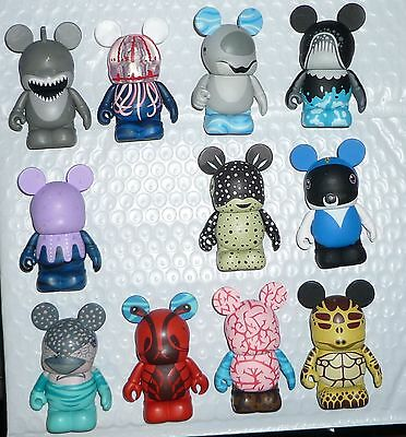 Disney Sea Creatures Series Vinylmation ( Set of 11 )