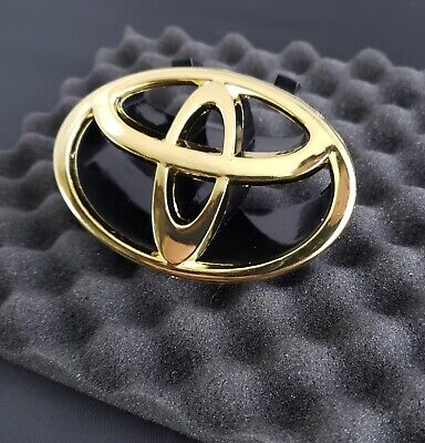 1999 Toyota Camry Xle - Toyota Camry Gold Front Grille Emblem 1997 1998 1999 2000 2001 98 75311-AA020