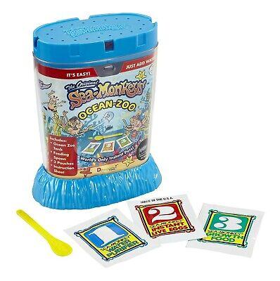 The Original SEA-MONKEYS® 80482 OCEAN-ZOO Instant Pet [Complete Kit]