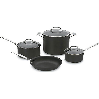 Cuisinart Chef's Classic Nonstick Hard-Anodized 7-Piece Cook