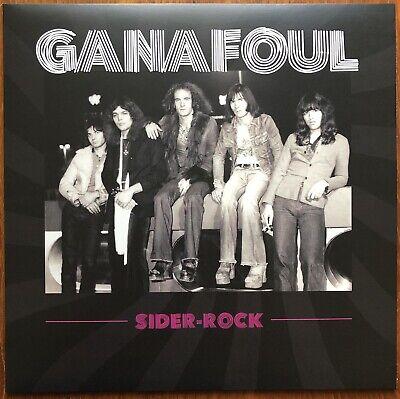 GANAFOUL Sider rock 2020 Inédits 1975 Glam hard Blues Rock Lyon Neuf