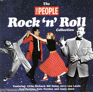 V-A-The-Rock-N-Roll-Collection-UK-10-Tk-CD-Album-The-People