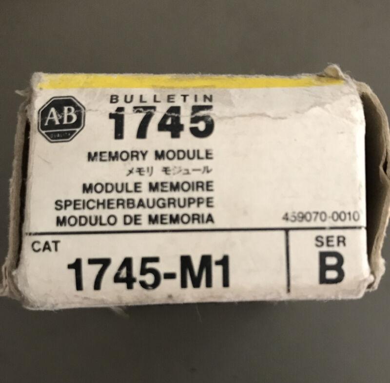NEW IN BOX ALLEN BRADLEY MEMORY MODULE 1745-M1 SERIES B