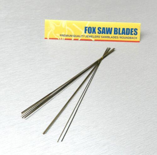 Jewelry Saw Blades #3/0 for Jewelers Saw Frame 1 Dz Fox Germany Hobby Craft Saws