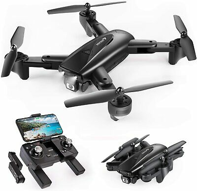 SNAPTAIN SP500 Foldable GPS FPV Drone 1080P HD Live Video Camera RC Quadcopter