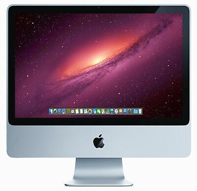 Apple iMac 20 inch Core 2 Duo 2.4GHz 4GB RAM 320GB HDD A1224 All-in-One Warranty