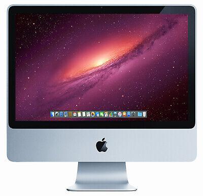 Apple iMac 20 inch Core 2 Duo 2.4GHz 4GB RAM 750GB HDD A1224 MA877LL/A BARGAIN!