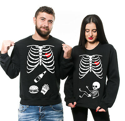 Couple maternity shirts Maternity shirts for Couples Halloween Pregnancy Costume
