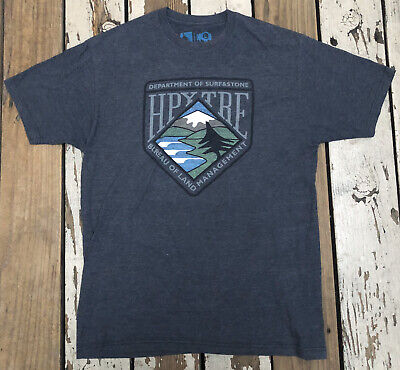 HippyTree DEPARTMENT OF SURF and STONE Men's VINTAGE BLEND Shirt size LARGE