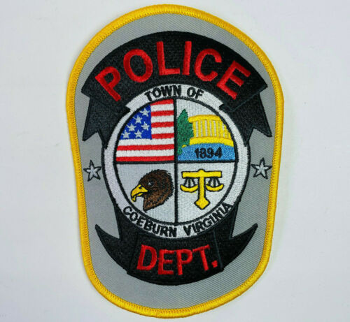 Coeburn Police Wise County Virginia VA Patch C6