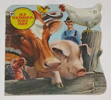 vintage children's old macdonald had a farm 1967 a golden