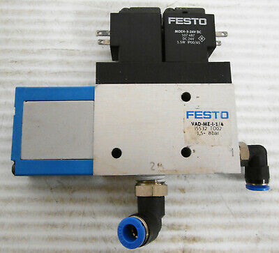 Festo Vad-me-i-14 35532 To02 Vacuum Generator 1.5-8 Bar