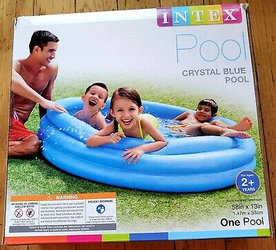 Intex Crystal Blue Inflatable Pool *New*