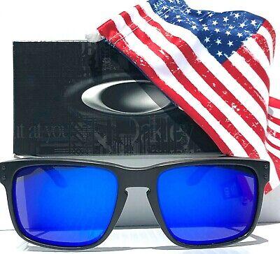 NEW* Oakley Holbrook USA Flag POLARIZED Galaxy Blue Iridium Sunglass (Oakley Holbrook Blue Iridium)