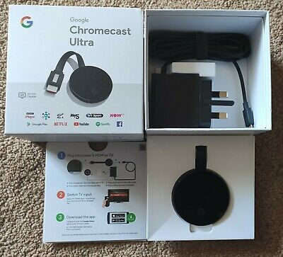 Brand New GOOGLE Chromecast Ultra 4K