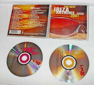 Various Artists : The Best Ibiza Anthems Ever...2001 x 2 (The Best Ibiza Anthems Ever)