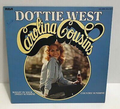 Dottie West ° Carolina Cousins ° LP Album ° Vinyl ° Schallplatte ° Country Musik ()