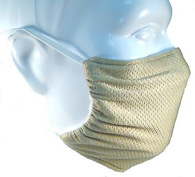 Beige Comfy Mask By Breathe Healthy  For Dust  Pollen   Allergy Relief