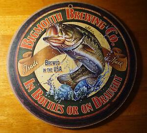 Bass Fisherman Lodge Fishing Cabin Bar Home Decor Sign New