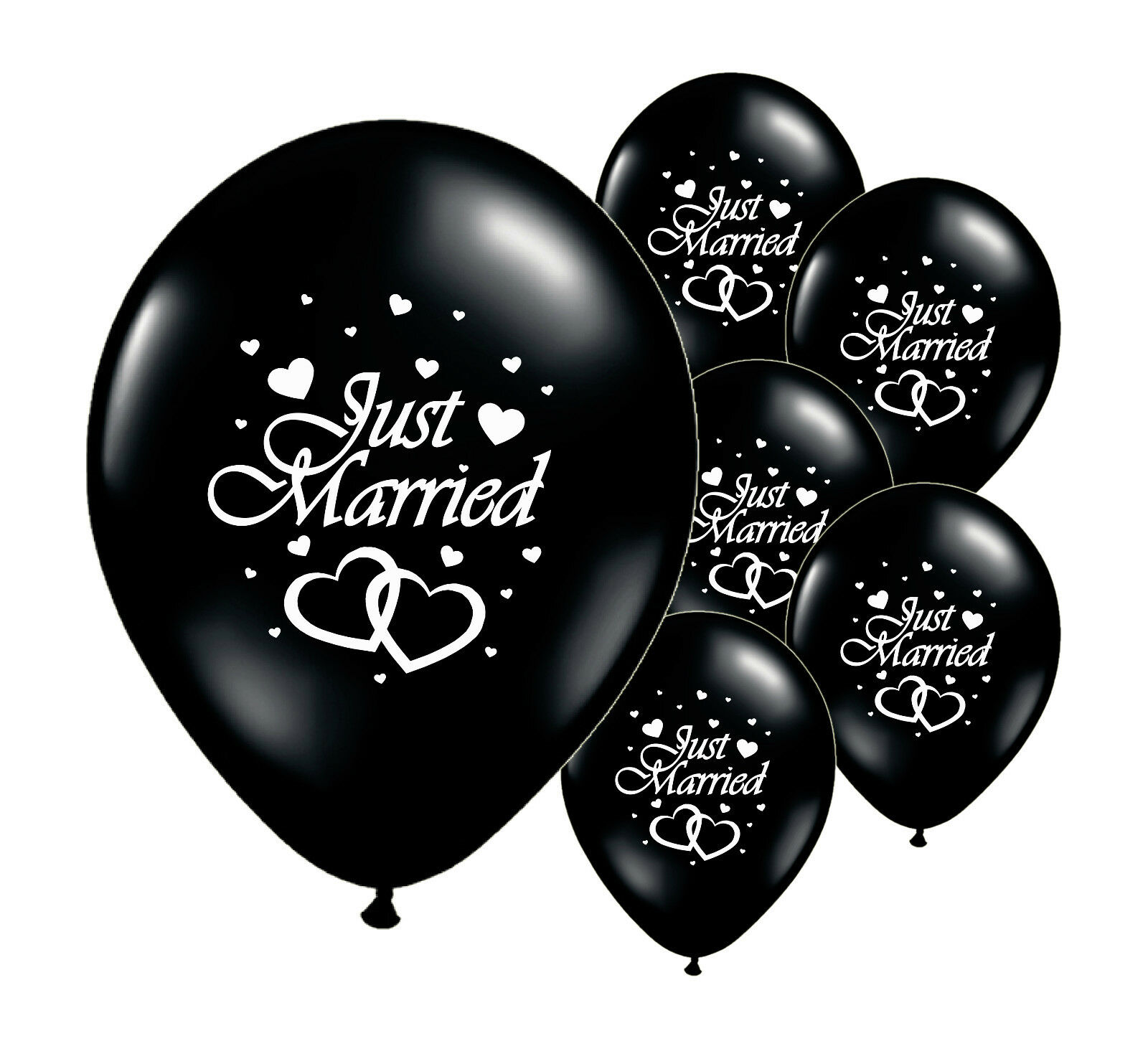 Helium Wedding Balloons