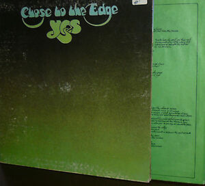 YES LP CLOSE TO THE EDGE PRESS USA 1972 ATLANTIC TESTI -INNER - Roma, Italia - YES LP CLOSE TO THE EDGE PRESS USA 1972 ATLANTIC TESTI -INNER - Roma, Italia