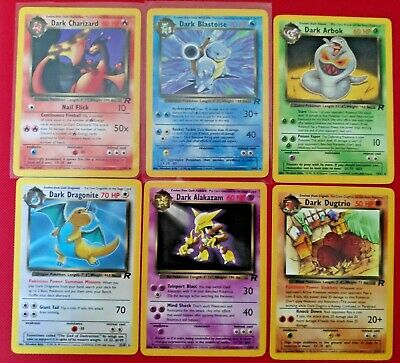 Team Rocket Non Holo Rare Pokemon Cards - Choose card and condition! WOTC - TCG