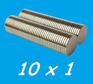 10-MAGNETI-NEODIMIO-10X1-MM-CALAMITA-POTENTE-FIMO-CERAMICA-MAGNETE-CALAMITE