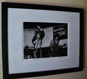 Guns-N-Roses-Axl-Rose-Slash-fine-art-photo-B-C-Rich-1985-signed-7-100-rare