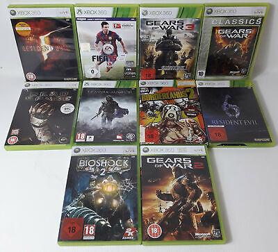 Spiele Sammlung | Xbox 360 | 10 Spiele Ü18 Borderlands 2 Fifa Gears of War 2