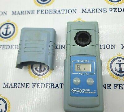 Hach 46770-00 Chlorine Pocket Colorimeter Handheld Portable Meter
