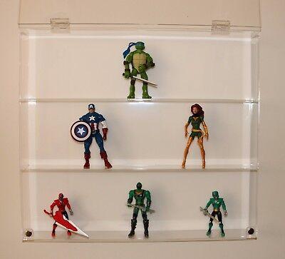 Collectors Showcase - Premium Display Case for Power Rangers Figures - T2MS